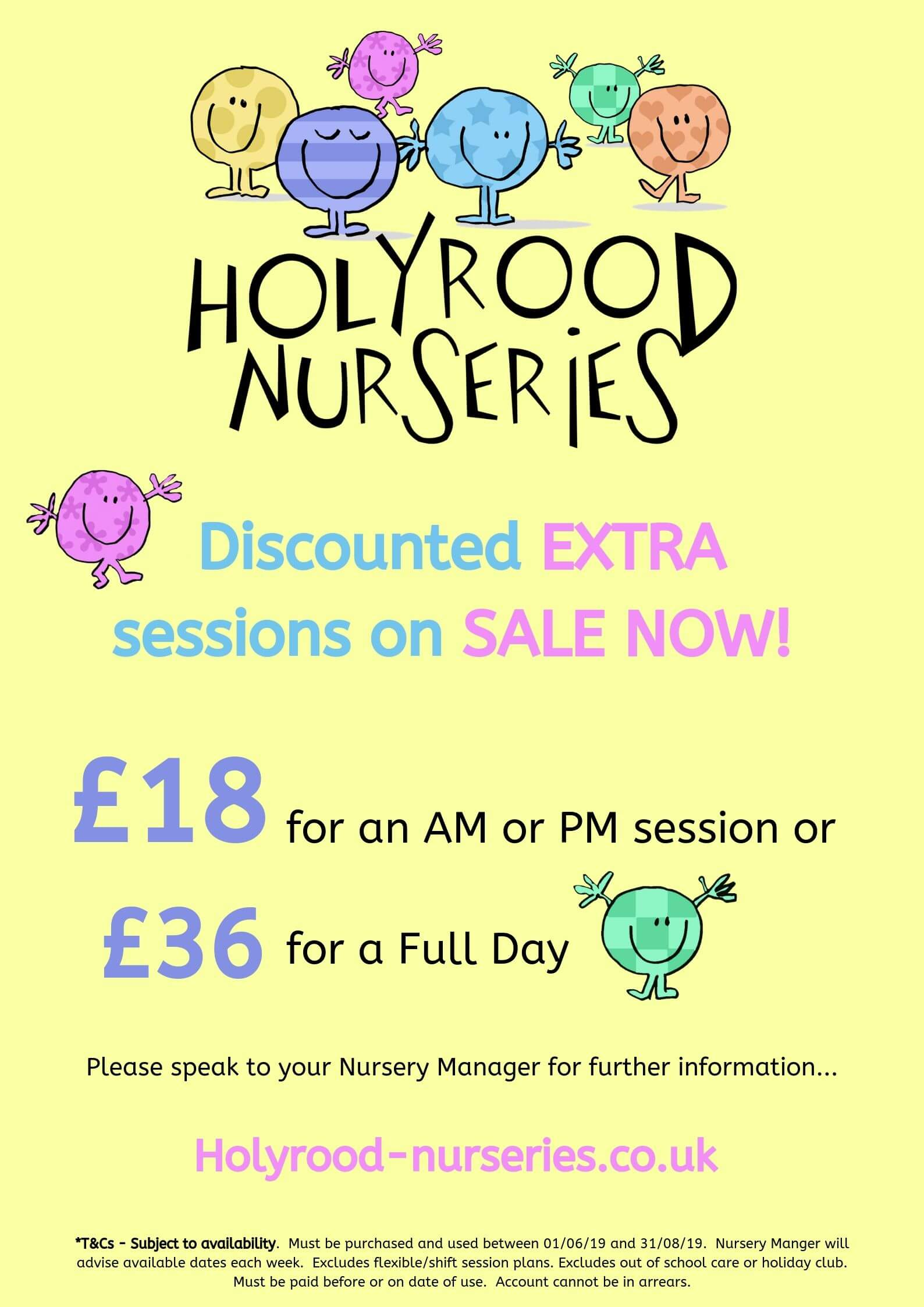 discounted session at shaw nursery